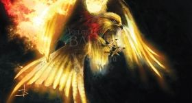 helge-c-balzer, dark-fantasy-art, dark-fantasy-artwork, phoenix, fire-bird, feuervogel,