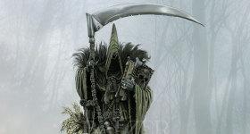 helge-c-balzer, dark-fantasy-art, dark-fantasy-artwork, Azrael, Schnitter, Sensenmann, Tod, reaper,