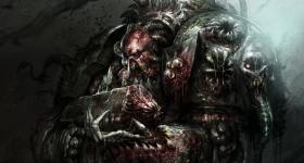 helge-c-balzer, dark-fantasy-art, dark-fantasy-artwork, Nurgle-Champion, Chaos, Warhammer-40k, Warhammer-40.000, Games-Workshop, Chaos-Space-Marine, Nurgle-Space-Marine, Corpulax, Black-Library,
