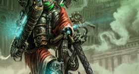 helge-c-balzer, dark-fantasy-art, dark-fantasy-artwork, Games-Workshop, Warhammer-40k, Warhammer-40.000, Techpriest, Mechanicus, Mechanicum,