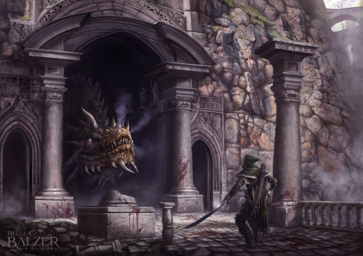 'Tolkien's Silmarillion – turin and Glaurung' by Helge Balzer
