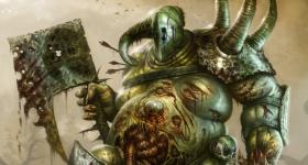 helge-c-balzer, dark-fantasy-art, dark-fantasy-artwork, Nurgle, Chaos, Warhammer, Games-Workshop, nurgle-chaos-lord, nurgle-lord-of-plague, decay, verfall, champion-of-nurgle, nurgle-champion