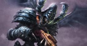 helge c. balzer, warhammer40k, warhammer40000, games-workshop, tau-empire, vespid, stingwings, dark fantasy, dark si-fi, dark sifi