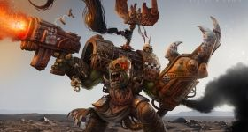 helge-c-balzer, ork, ork-boss, ork-champion, warhammer-40k, games-workshop, greenskins, warhammer-40000,