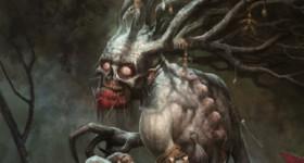 Helge C. Balzer, Dryade, woods, forest, wälder, wald, ritual, demon, dämon, dark fantasy art,