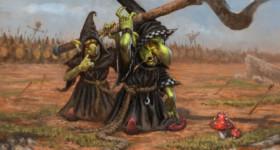 Helge C. Balzer, Goblins, Nightgoblins, Squig Hunter, Warhammer Fantasy, Games Workshop, Fantasy Illustration,