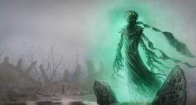 helge c. balzer, ghost, cursed, geist, gespenst, spook, phantom, wraith, specter, art, dark fantasy, illustration