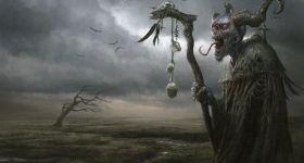witch, hexe, wetterhexe, demon, dämon, creature, wizard, warlock, helgecbalzer, art, artwork, artist, illustration, illustrator, digitalart, digitalartist, conceptart, painting, fantasy, darkfantasy, fantasyart, fantasyillustration, fantasyillustrator, fantasypainting, amberartworks, productionpainting