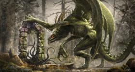 helge c. balzer, art, artwork, artist, illustration, illustrator, digital art, digital artist, concept art, painting, fantasy, dark fantasy, fantasy art, fantasy illustration, fantasy illustrator, fantasy painting, paizo, pathfinder, dragon, elf gate,